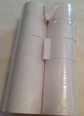 Genuine Office Depot 1-Ply Paper Rolls White 10 PACK (New damaged packaging)