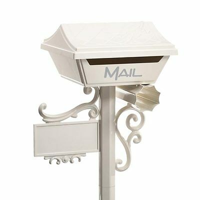 SALE Milkcan CREAM Letterbox ALUMINIUM Gumleaf Freestanding Box and Post Mailbox