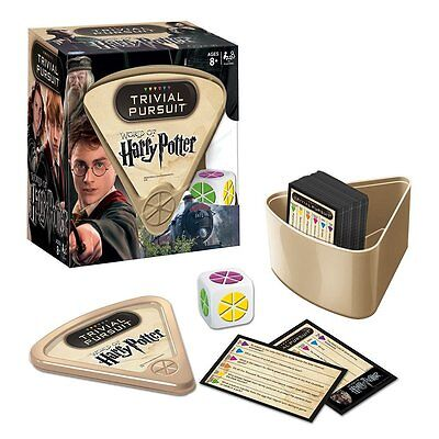 Trivial Pursuit Board Game World of Harry Potter Kids Family Fun Toy Xmas Gift