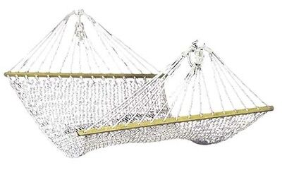 Double Hammock 5mm Cotton Rope Strong Portable Comfortable Outdoor Camp Swinging