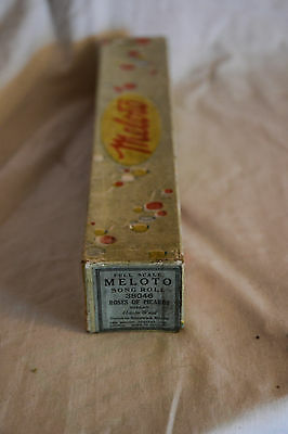 Antique MELOTO Player Piano, Pianola Roll ROSES OF PICARDY