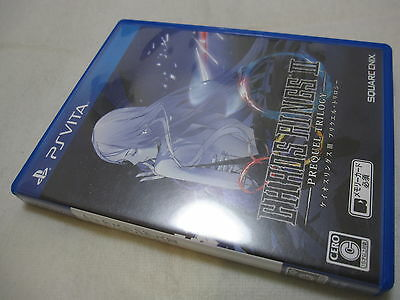 W/Tracking 7-14 Days to USA. Vita CHAOS RINGS III PREQUEL TRILOGY Japanese Ver