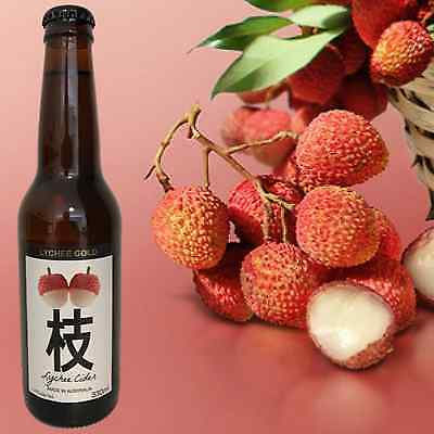 Lychee Gold Low Alcohol Cider (24 X 330Ml)