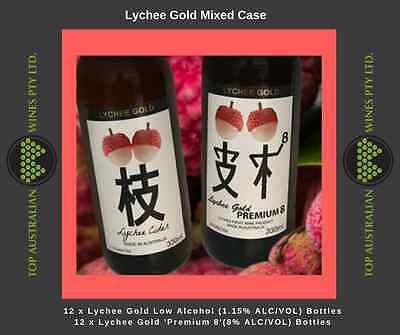 Lychee Gold Mixed Case Cider (24 X 330Ml)