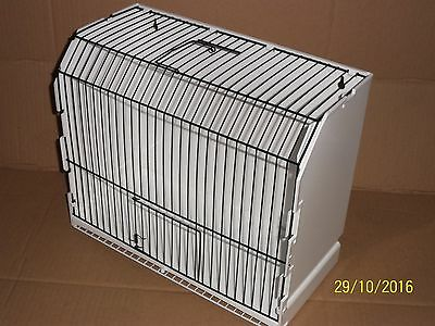 Brand New Plastic Exhibition , Mule / Travel / Weaning Cage , Canary , Finch Etc