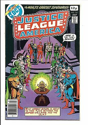 Justice League Of America # 168 (July 1979), Vf-