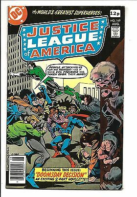 Justice League Of America # 169 (Aug 1979), Vf