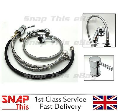 Mixer Taps Sprayer Hairdressing Salon Basin showerhead mixertap Sink Tap set UK