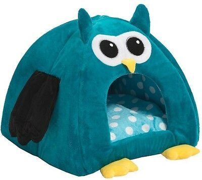 Cuddly Relaxing Owl Cat Dog Pet Den Comfortable Bed Home Decor, 40 x 40 x 45cm