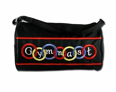NEW Gymnastic Bag Sassi Designs Brilliantly Embroidered Rings And Text GYM-01