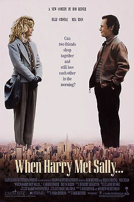 WHEN HARRY MET SALLY Movie Poster [Various Sizes]