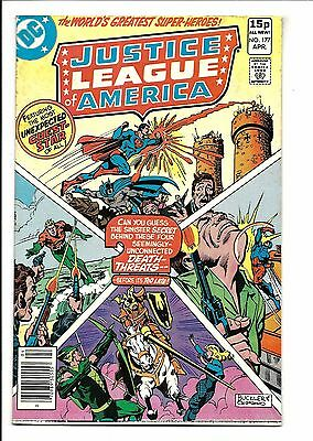 Justice League Of America # 177 (Apr 1980), Fn+