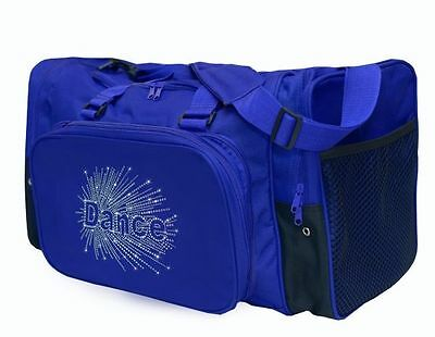 New Dance Bag Sassi Designs Dance Burst Rhinestone Transfer in BLACK DBST-627