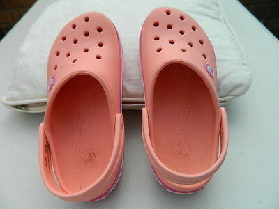 Kids Crocs In Pink Size 12 C 13