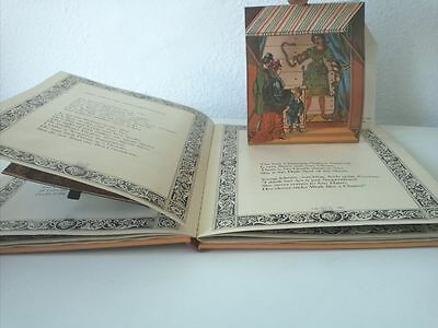1979 Libro Animado Pop-Up Anthea Bell The Great Menagerie an adaptation of the..