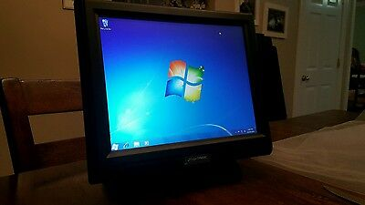 Touch Dynamic Model D2550 PC computer with card reader EXCELLENT CONDITION