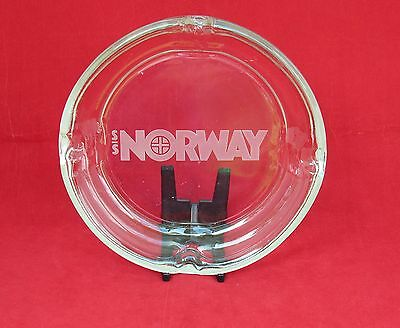 Large S.S. NORWAY Onboard Ashtray w/ Name - Excellent- NAUTIQUES sHiPs WORLDWIDE