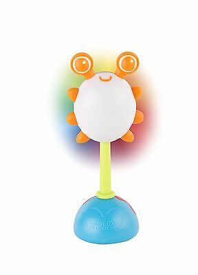 Lamaze Rainbow Glow Rattle Toy Toddler Gift Lights and sounds LC27630