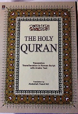 Holy Quran English Translation And Transliteration In Roman Script & Arabic Text