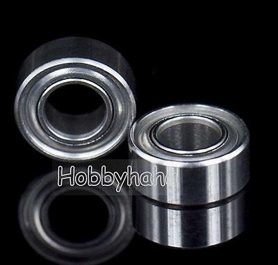 10pcs new MR105zz Ball Bearing metal sealed 5X10X4mm Miniature Mini Bearing