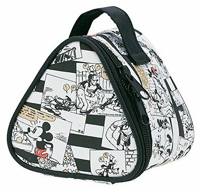 Skater keep cold mini lunch bag rice ball case Mickey Mouse KONC2 JAPAN
