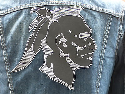 GRAND ECUSSON PATCH aufnaher THERMOCOLLANT / TETE INDIEN country biker trike usa