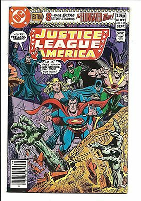 Justice League Of America # 182 (Sept 1980), Vf-
