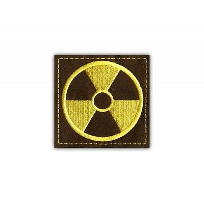 Stalker - loners - DELUX - Radioactive Contamination PATCH/BADGE