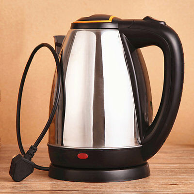 New 2L Good Quality Stainless Steel Electric Automatic Cut Off Jug Kettle IJ