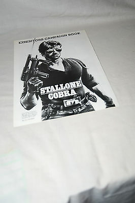 Scarce Cinema Campaign Book: SYLVESTER STALLONE - COBRA