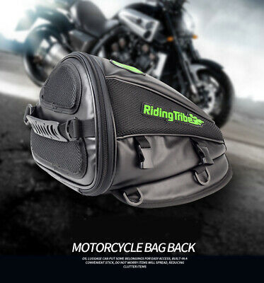 Motorcycle Motorbike Rucksack Casual Cycle Waterproof Backpack Luggage Tail Bag