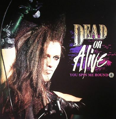 DEAD OR ALIVE - You Spin Me Round - Vinyl (limited coloured vinyl LP + poster)