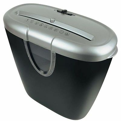 Cross Cut Paper Shredder With 12Ltr Waste Bin & Auto-Stop Function - 5 A4 Sheets