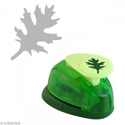Artemio 1.6 cm Small Leaf Number 2 Lever Punch Green