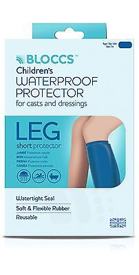 Bloccs Child Small Short Leg Waterproof Cast Cover 1-3 years