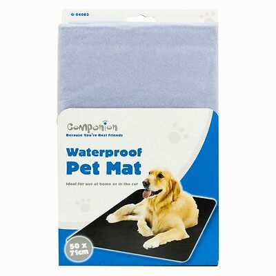 Waterproof Wipe Clean Pet Mat / CAT / DOG /  for Car or Home