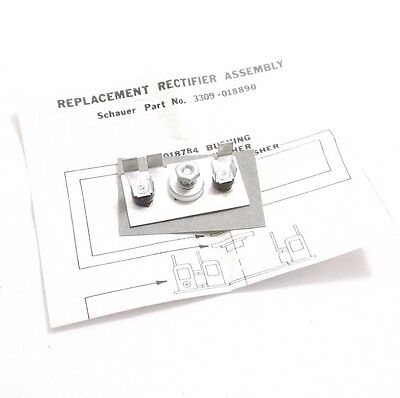 Schauer 3309-018890 Rectifier Assembly - Prepaid Shipping