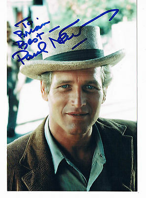 Paul Newman Film Actor Butch Cassidy and the Sundance Kid Hand Signed Photograph
