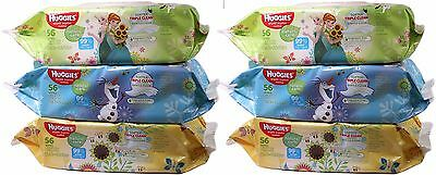 Huggies Natural Care Unscented Baby Wipes Soft Pack - 336 Count