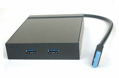 """ASUS Front Panel USB 3.0 Box 3.5"""" Zoll 19-Pin Mainboard Anschluss  #30754"""