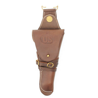 US WWI WW2 M1912 Colt 1911 .45 Holster Embossed US