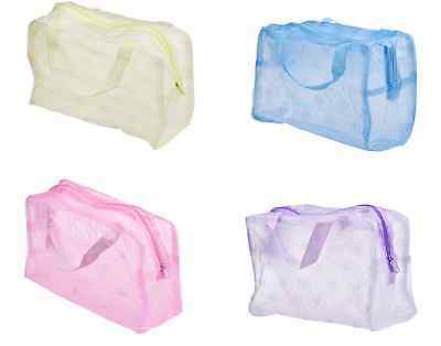 Travel Toiletries Make Up Bag Cosmetics Gym Swimming Wash Bag Pouch Toothbrush