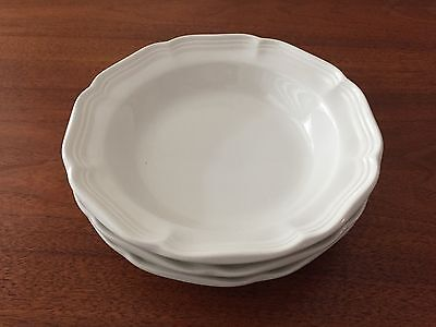 """SET of 3 ~ Mikasa French Countryside Soup / Cereal / Pasta  BOWLS 8.5""""  MINT!!"""
