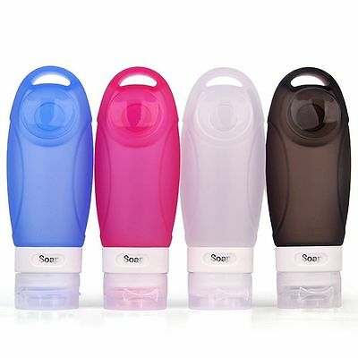 Travel Bottles Toiletry Containers Set TSA Approved Leak Proof Design Refillable