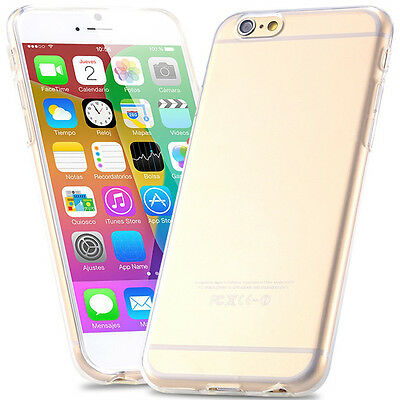 Ultra Thin Soft Slim TPU Clear Case Cover For iPhone 6 7 6S Plus 7 plus