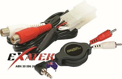 DNA AWH8000 AUXILARY AUX PLUG N PLAY ADAPTOR FOR FORD FALCON BA BF and TERRITORY