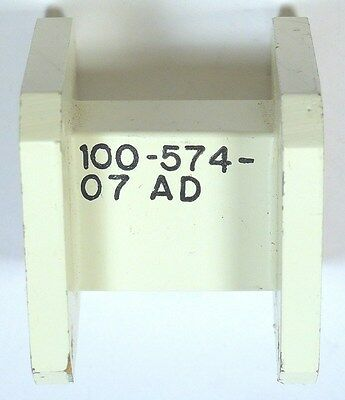 """WAVEGUIDE WR-75 STRAIGHT - 1-3/16"""" - BRASS - *UNUSED* - Qty:1"""