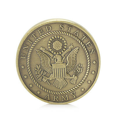 Gold Plated Put On The Full Armor Of God Army Challenge Commemorative Coins Gift