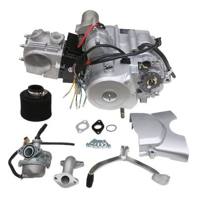 4 STROKE 125CC 3+1 SEMI AUTO 3 Speed ENGINE &CARBY &Air Filter W/REVERSE GO KART