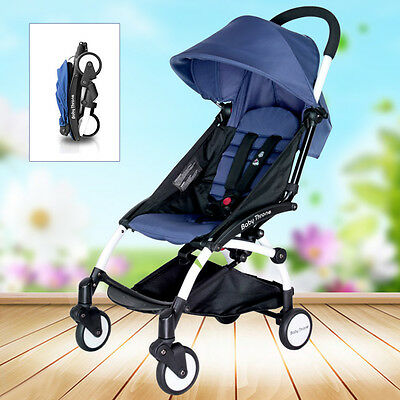 Baby Foldable Stroller Prams Ride-On Pushchair Carriage Infant Travel System